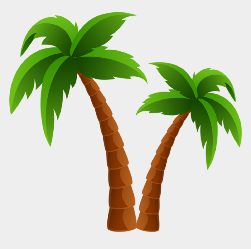 tree clip art, Cartoons - Palm Tree Clip Art And Cartoons On Palm Trees - Palm Tree Clipart Transparent Background