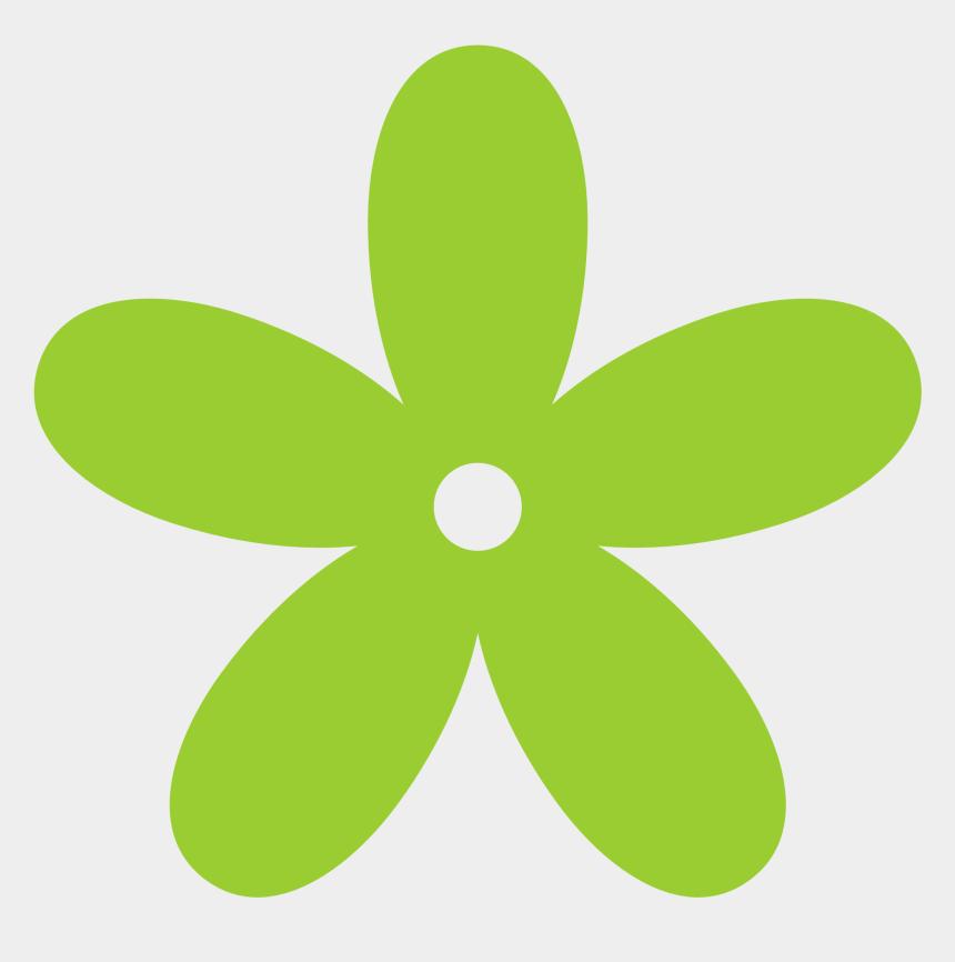 Flower green. Flowers clip art clipart