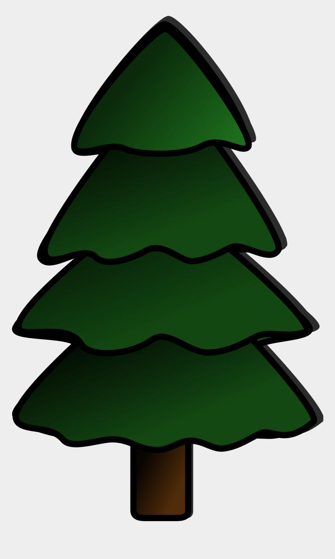 tree clip art, Cartoons - Pine Tree Clip Art - Simple Pine Tree Clipart