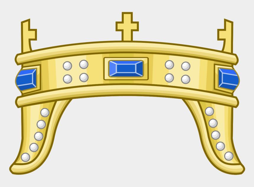 crown clip art, Cartoons - Crown Of Zvonimir