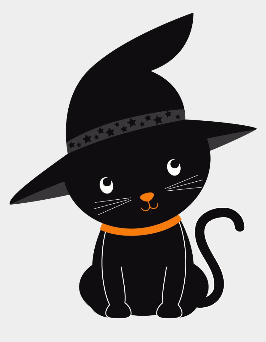 cat clip art, Cartoons - Halloween Cat Clipart - Cute Halloween Cat Clipart