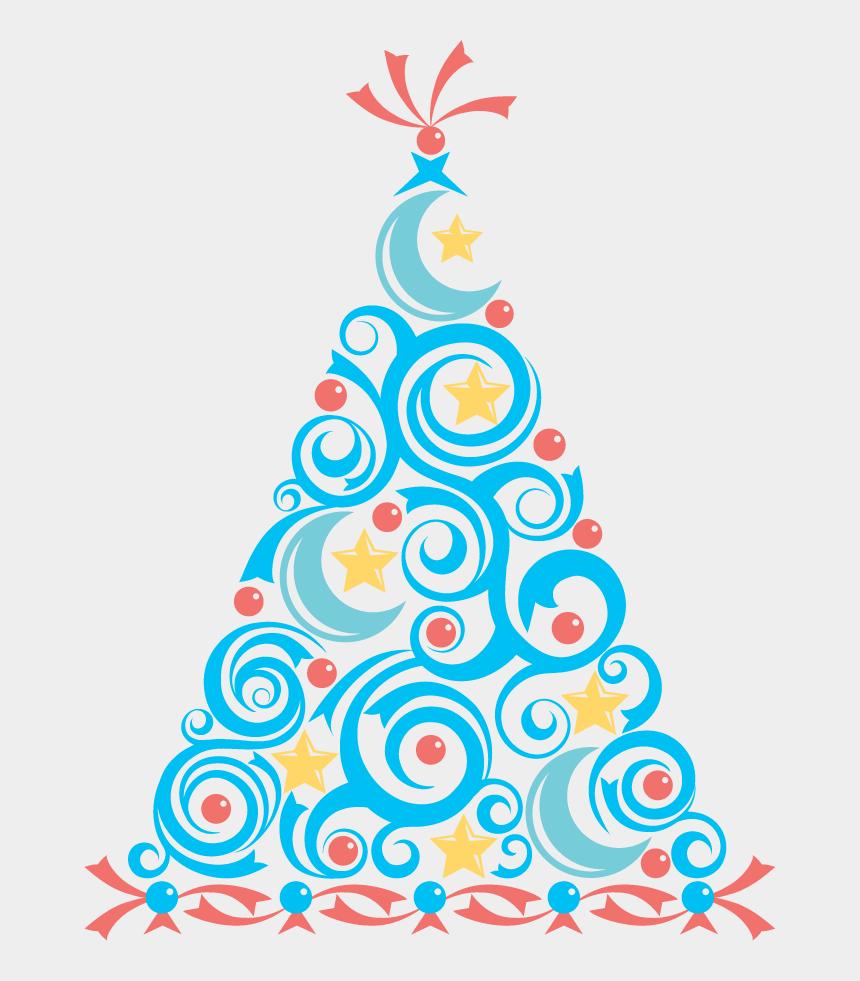 tree clip art, Cartoons - Blue Christmas Tree Clip Art - Free Image Holiday Clipart