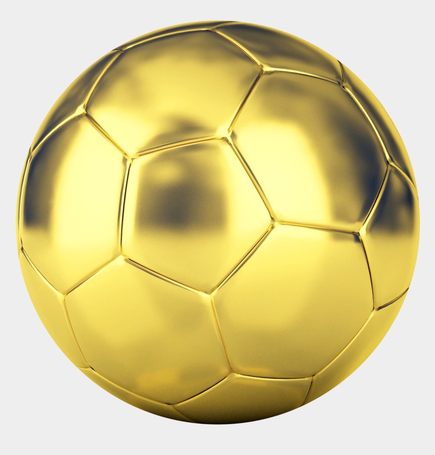 soccer ball clipart, Cartoons - Soccer Ball Png Image - Golden Soccer Ball Png