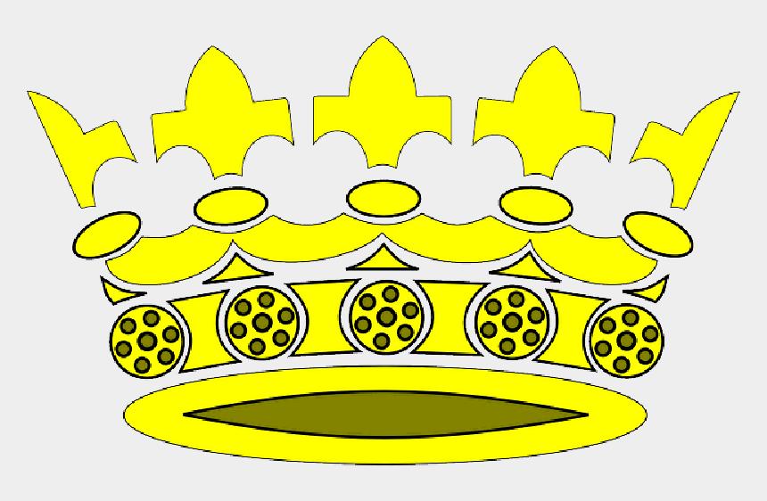 crown clip art, Cartoons - King, Queen, Cartoon, Round, Free, Gold, Crown - Crown Clip Art