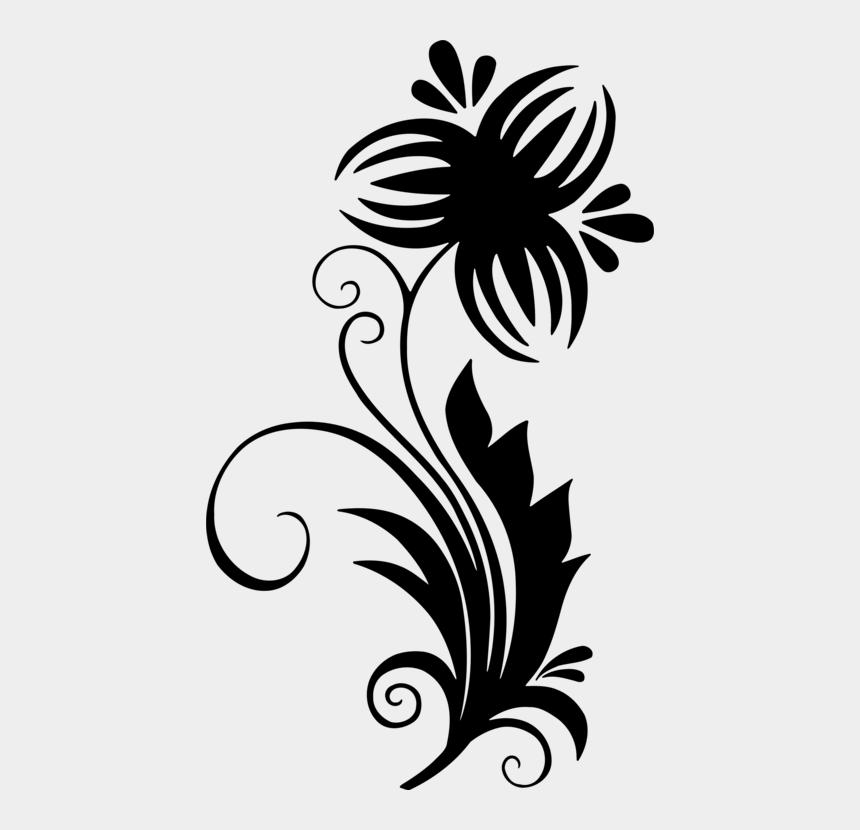 flower clip art, Cartoons - Floral Design Flower Drawing Leaf Line Art - Clipart Designs Flower