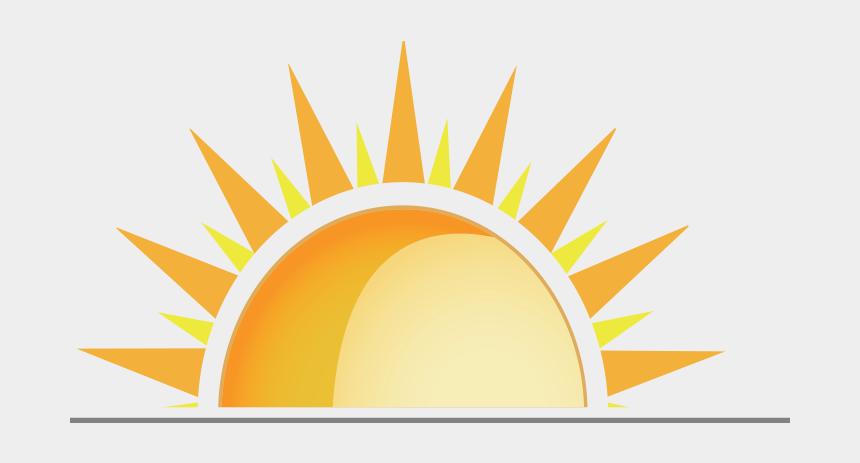 Sun half. Clipart today s power