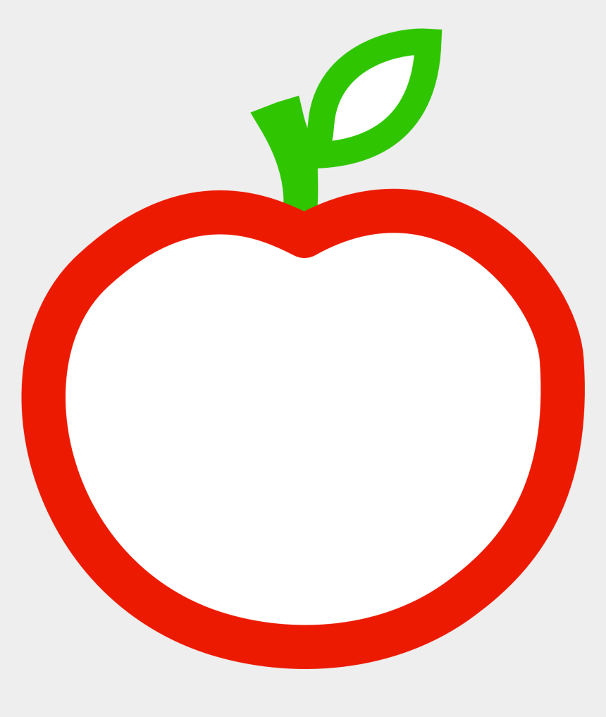 apple clip art, Cartoons - Free Apple Png Clipart - Apple Outline