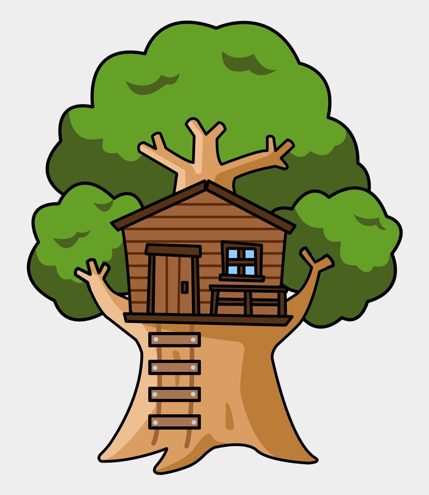house clip art, Cartoons - Tree House Clipart - Clip Art Tree House