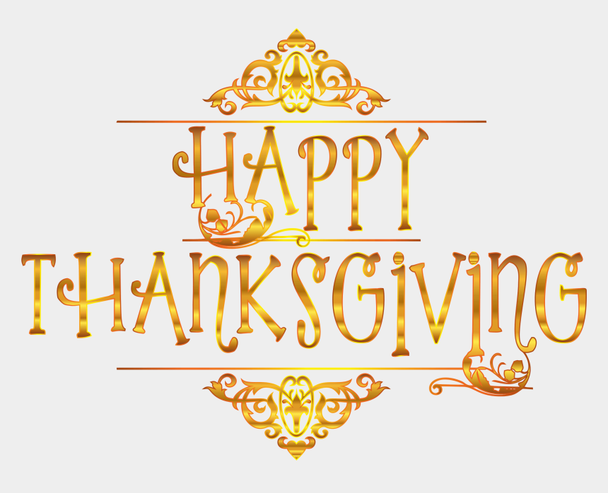 thanksgiving clipart, Cartoons - Thanksgiving Clipart Transparent Background - Happy Thanksgiving 2018