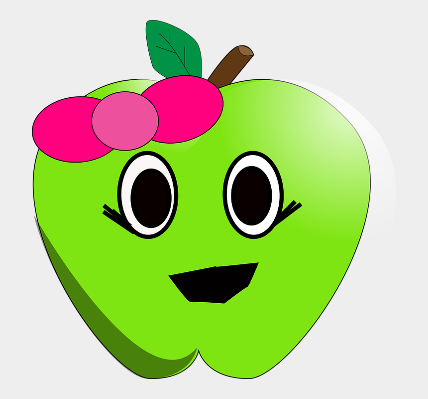 apple clip art, Cartoons - This Free Clip Arts Design Of Sad Little Apple - Cute Apple Clipart