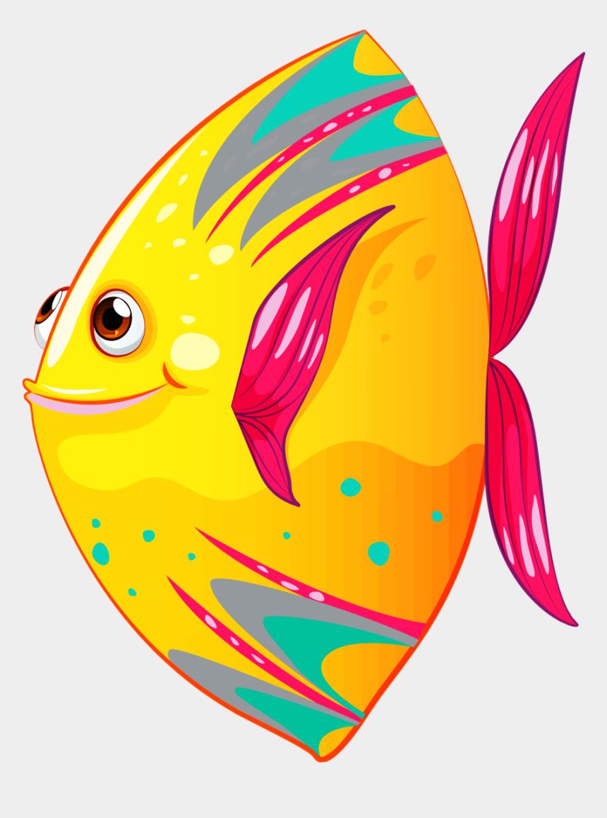 fish clip art, Cartoons - Fishing Clipart Deep Sea Fishing - Colorful Fish Clipart