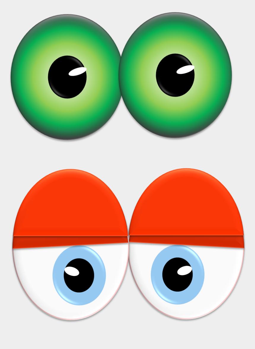 eye clipart, Cartoons - Vector Eyeball Animated Eye - Clip Art Monster Eyes