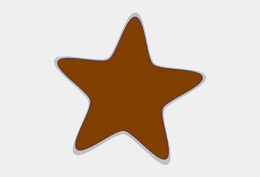 star clip art, Cartoons - Brown Clip Art Star Hi Svg Clip Arts 594 X 595 Px - Red Star Clipart