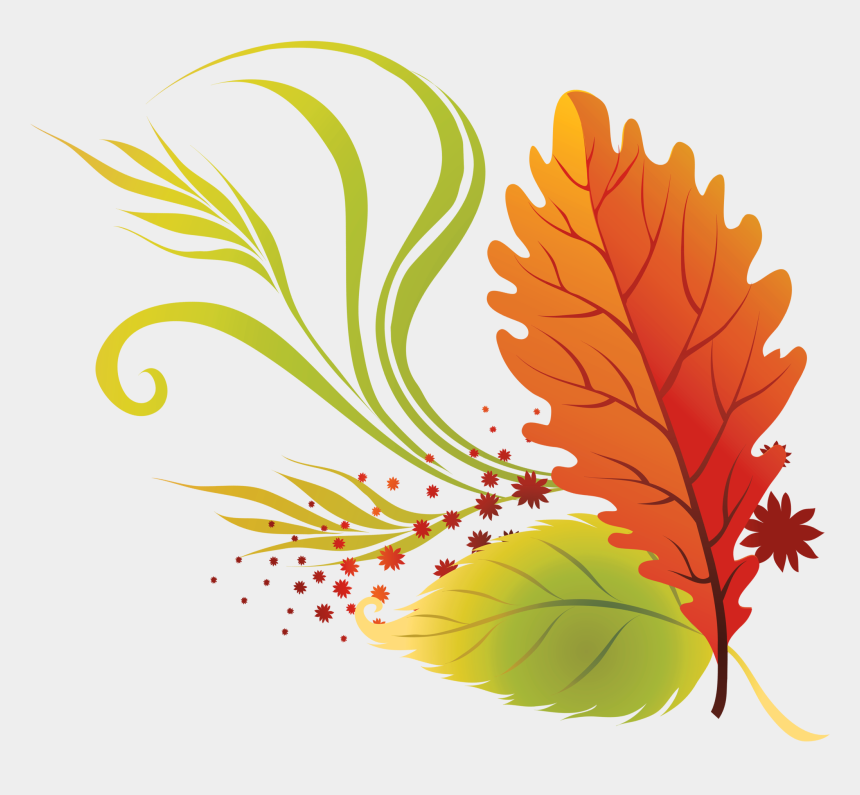 fall clipart, Cartoons - Fall Leaves Clip Art Beautiful Autumn Clipart 2 Image - Transparent Transparent Background Fall Leaves