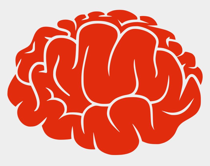 brain clipart, Cartoons - Brain Clipart - Brain Silhouette Png