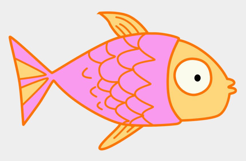 fish clip art, Cartoons - Fish Kids Clip Art Pink Cartoon Educational Cute - Clip Art Fish Clear Background