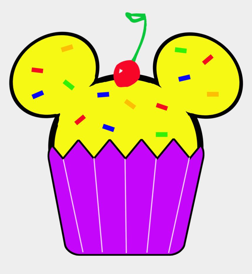 cupcake clipart, Cartoons - Birthday Cupcake Clipart - Disney Birthday Clipart Transparent