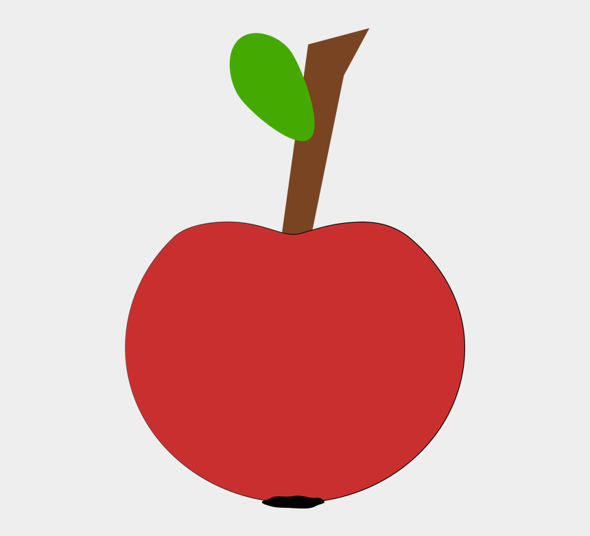 apple clipart, Cartoons - Apple Clipart For Teachers - Seedless Fruit