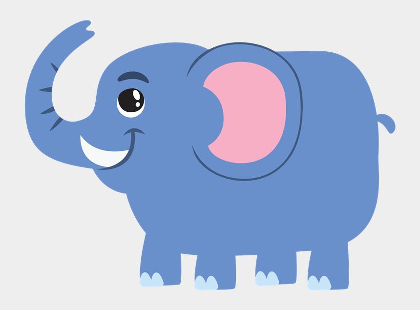 elephant clipart, Cartoons - Free Blue Elephant Cliparts, Download Free Clip Art, - Cute Big Elephant Cartoon