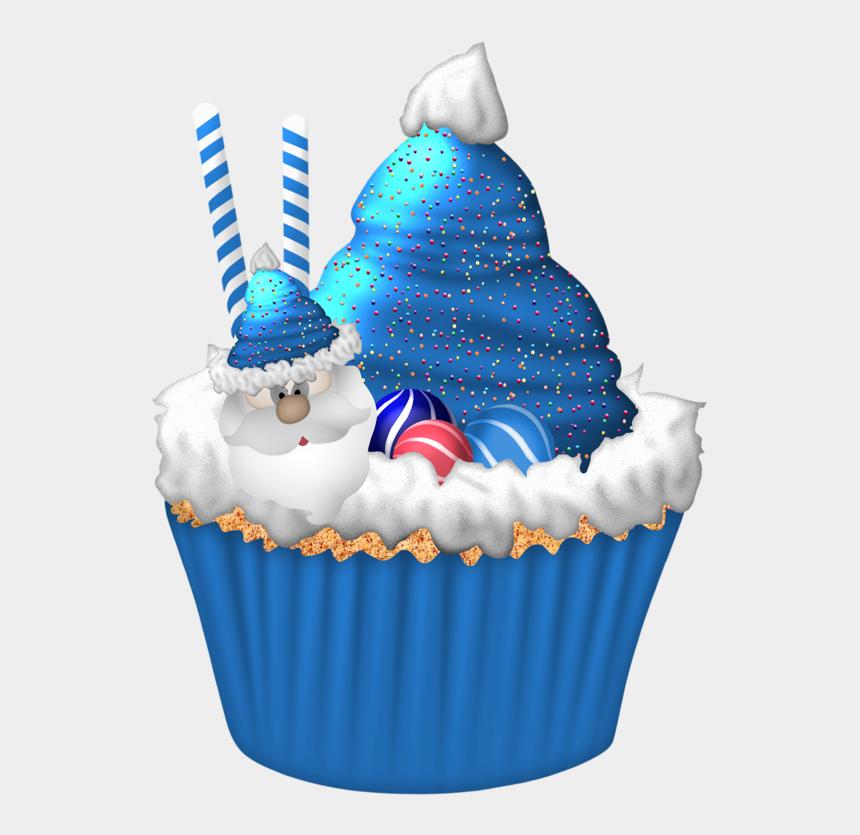 cupcake clipart, Cartoons - Christmas Cupcakes Clipart - Cupcake Christmas Png