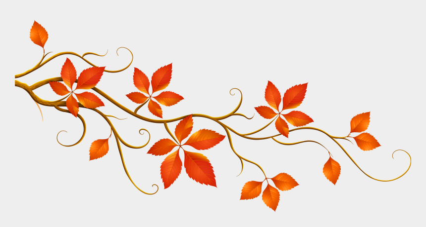 leaf clipart, Cartoons - Clip Art Tree With Falling Leaves Clipart - Fall Leaves Clip Art