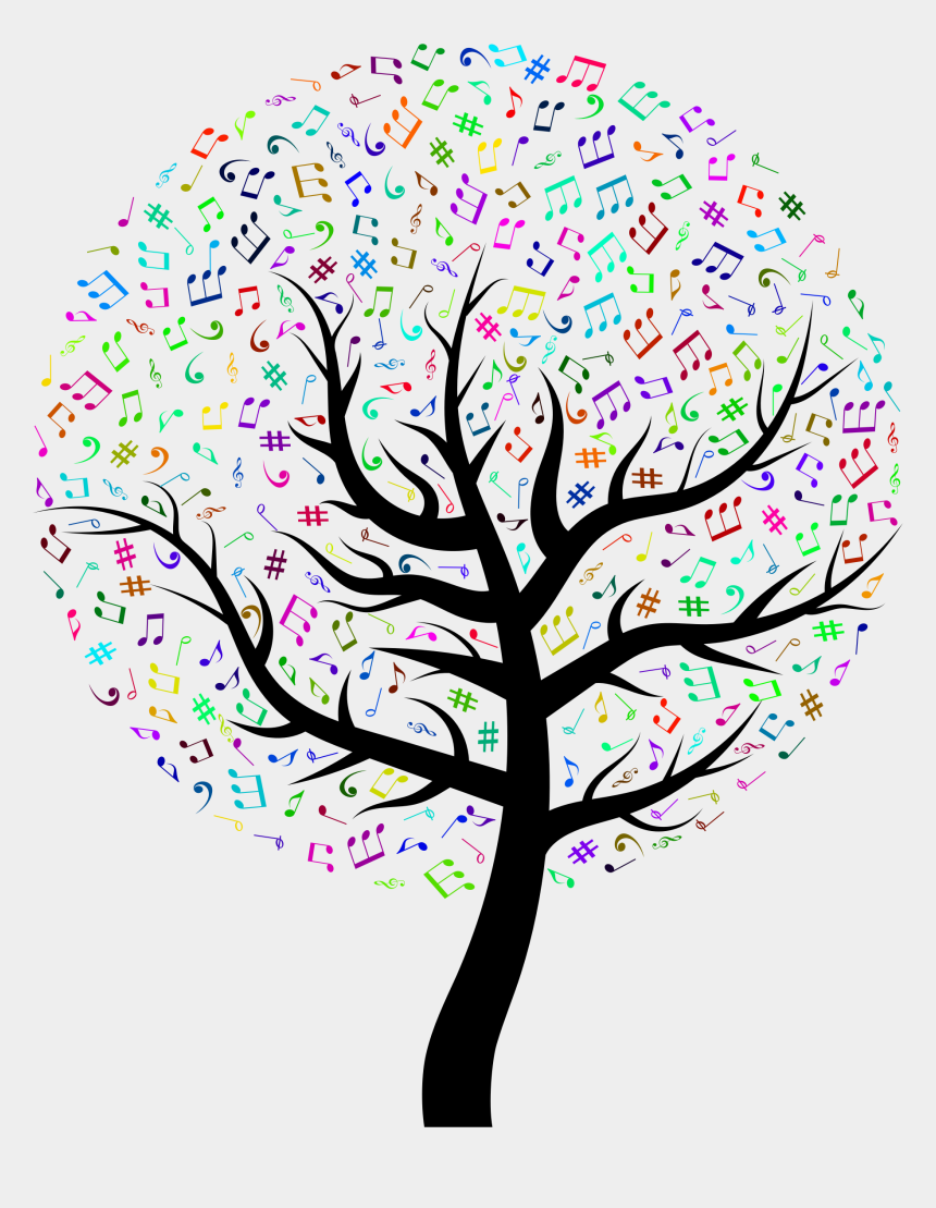 music notes clipart, Cartoons - Music Notes Clipart Hearing Music - Waiting For Godot Art