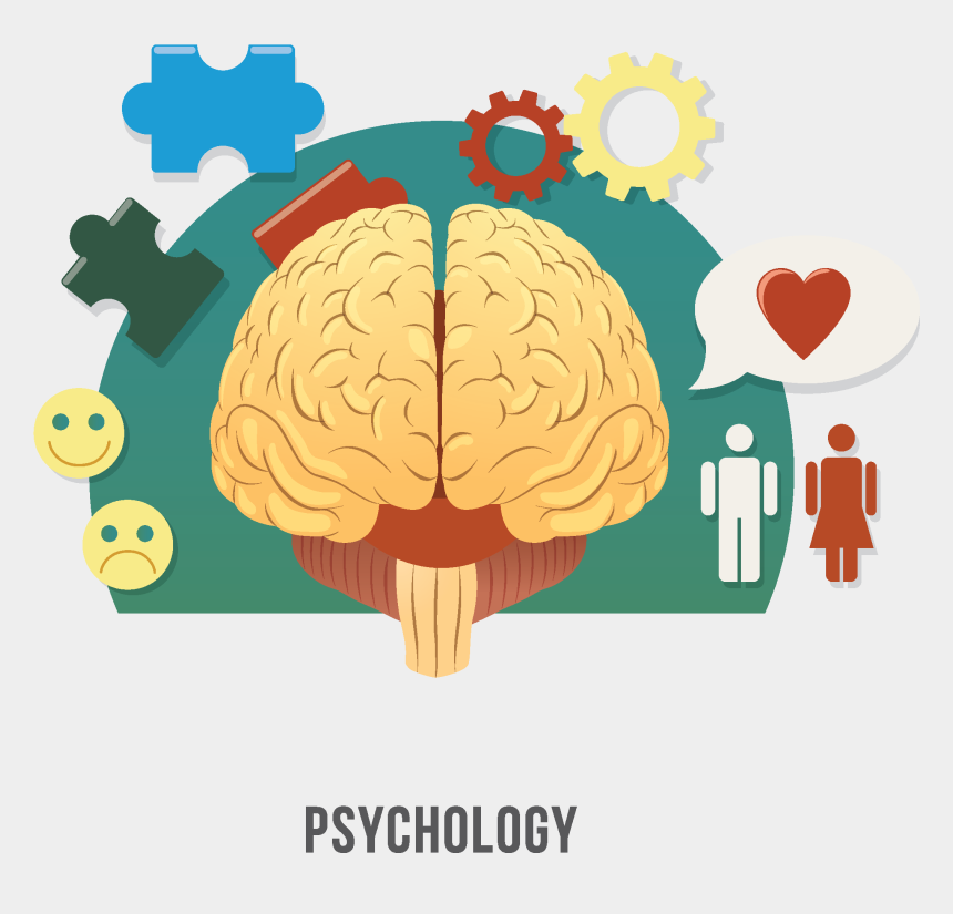 Psychology Clipart Human Brain - Clinical Psychologist