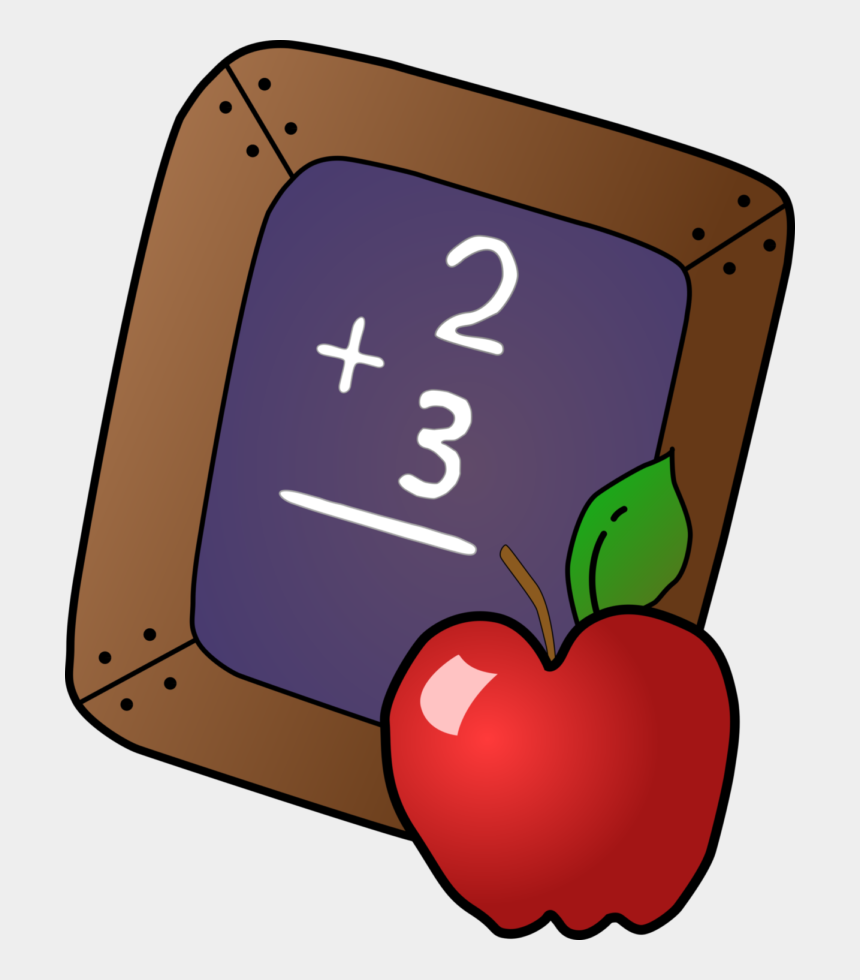 clip art pictures, Cartoons - Apple And Slate - Clip Art Teacher Apple