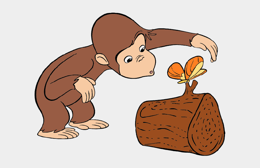 clip art pictures, Cartoons - Curious George Decorating A Cake Curious George Admiring - Curious George Being Curious