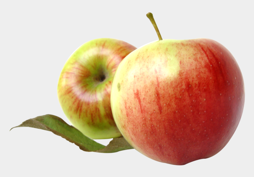 apple clipart, Cartoons - Two Red Apples With Leaves Png - Two Red Apple Png