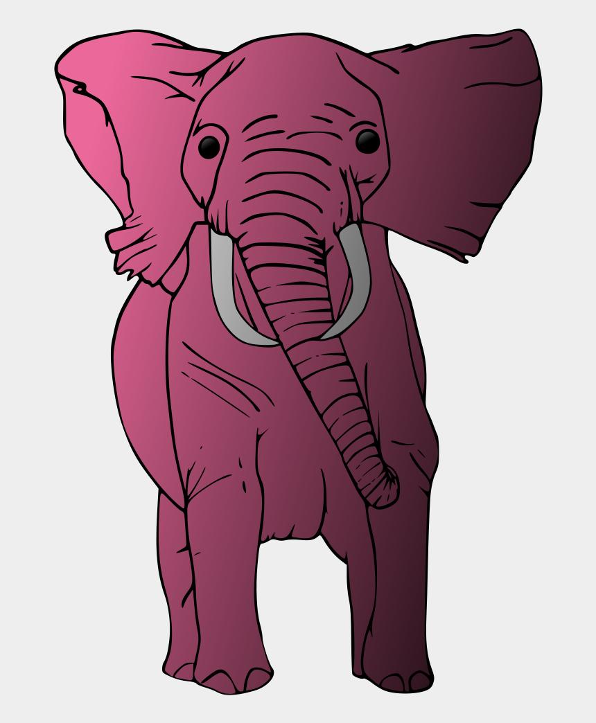 elephant clipart, Cartoons - Pink Elephant Pink Elephant, Clip Art, Pictures - Indian Elephant