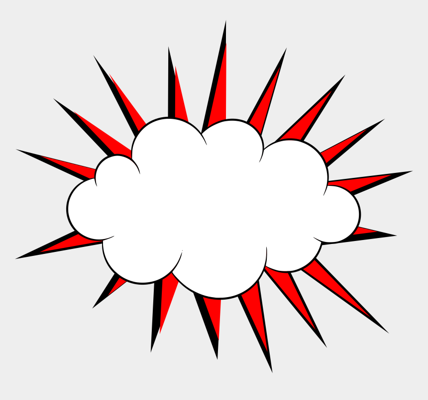 cloud clipart, Cartoons - Transparent Cloud Clipart Comic Book - Cloud Comic Book Png