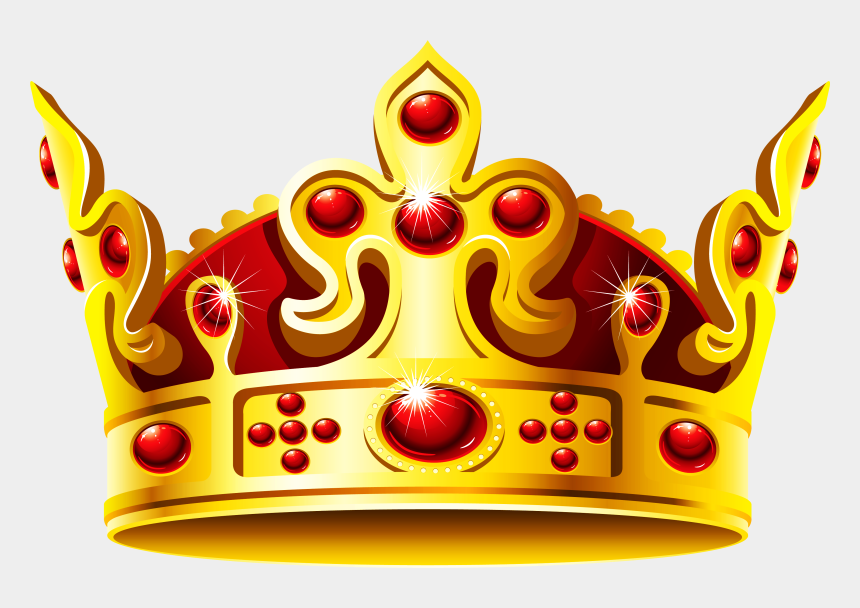 crown clipart, Cartoons - Gold Crown Clipart - Golden Crown