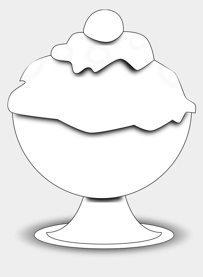 ice cream clipart, Cartoons - Ice Cream Clipart Black And White - Black And White Ice Cream