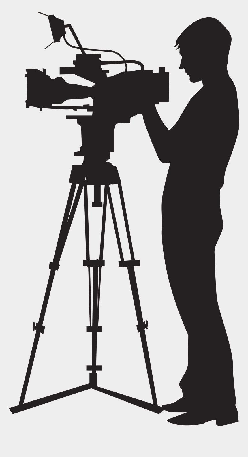 camera clip art, Cartoons - Camera Operator Video Camera Clip Art - Camera Man Clip Art