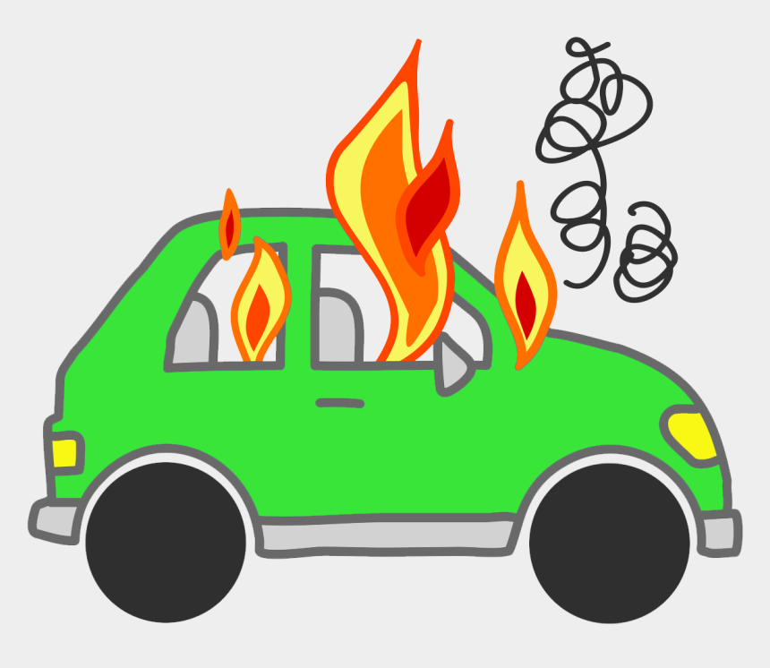 fire clipart, Cartoons - Fire Clipart Dancing - Car On Fire Cartoon