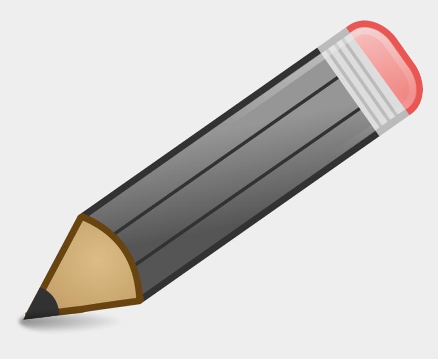 pencil clipart, Cartoons - Pencil Clip Art 2 Image - Grey Colored Pencil Clipart