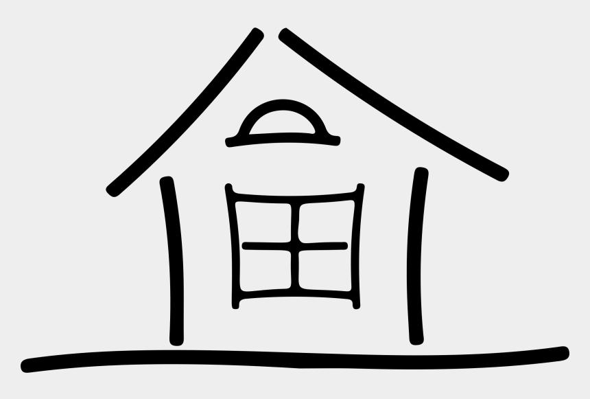 house clip art, Cartoons - Simple House Clipart - Simple House Clip Art