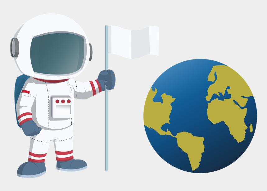 earth clipart, Cartoons - Astronaut Earth Clipart