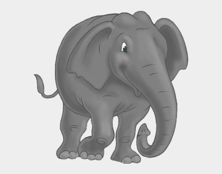 elephant clipart, Cartoons - Tubes Animaux - Indian Elephant