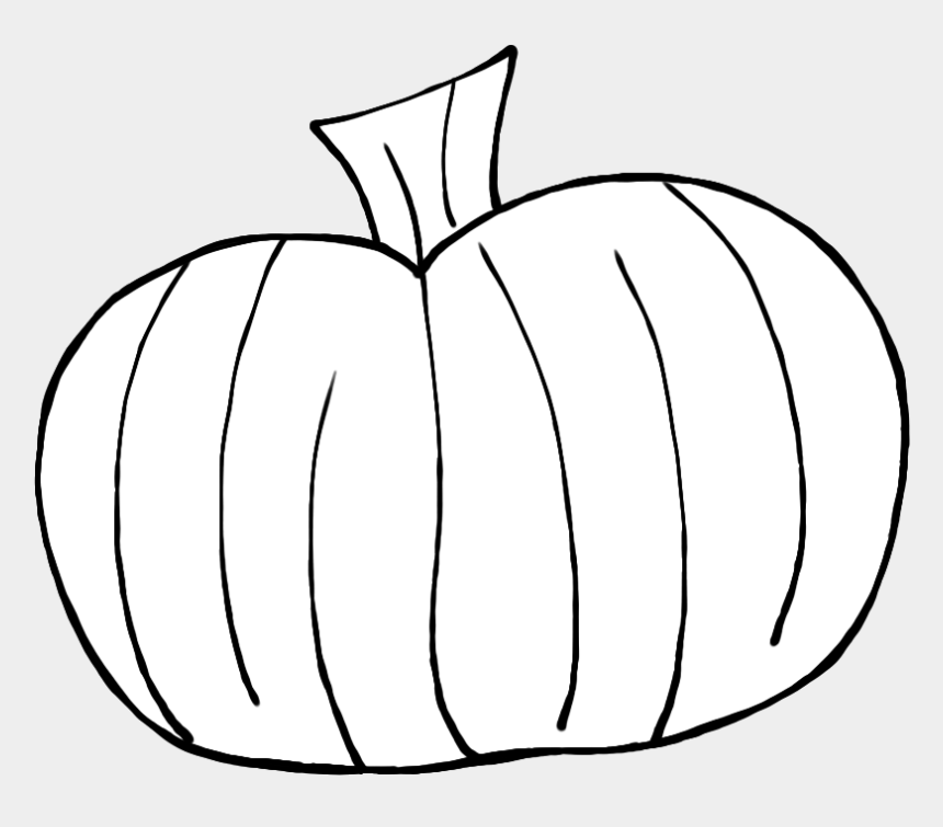 pumpkin clipart, Cartoons - Pumpkin Outline Clipart Black And White - White Pumpkin Clipart Png