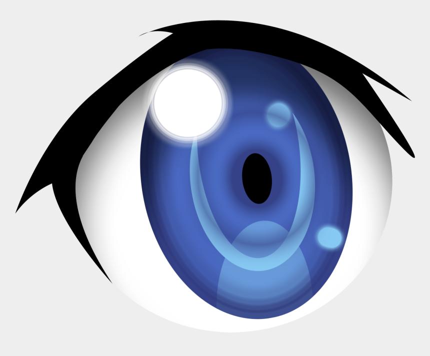 eyes clipart, Cartoons - Blue Eyes Clipart Anime Eye - Anime Eye Transparent Background