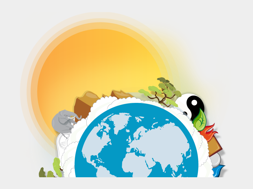 earth clipart, Cartoons - Planet Earth Clipart Discovery World - World Map Outline With Ocean