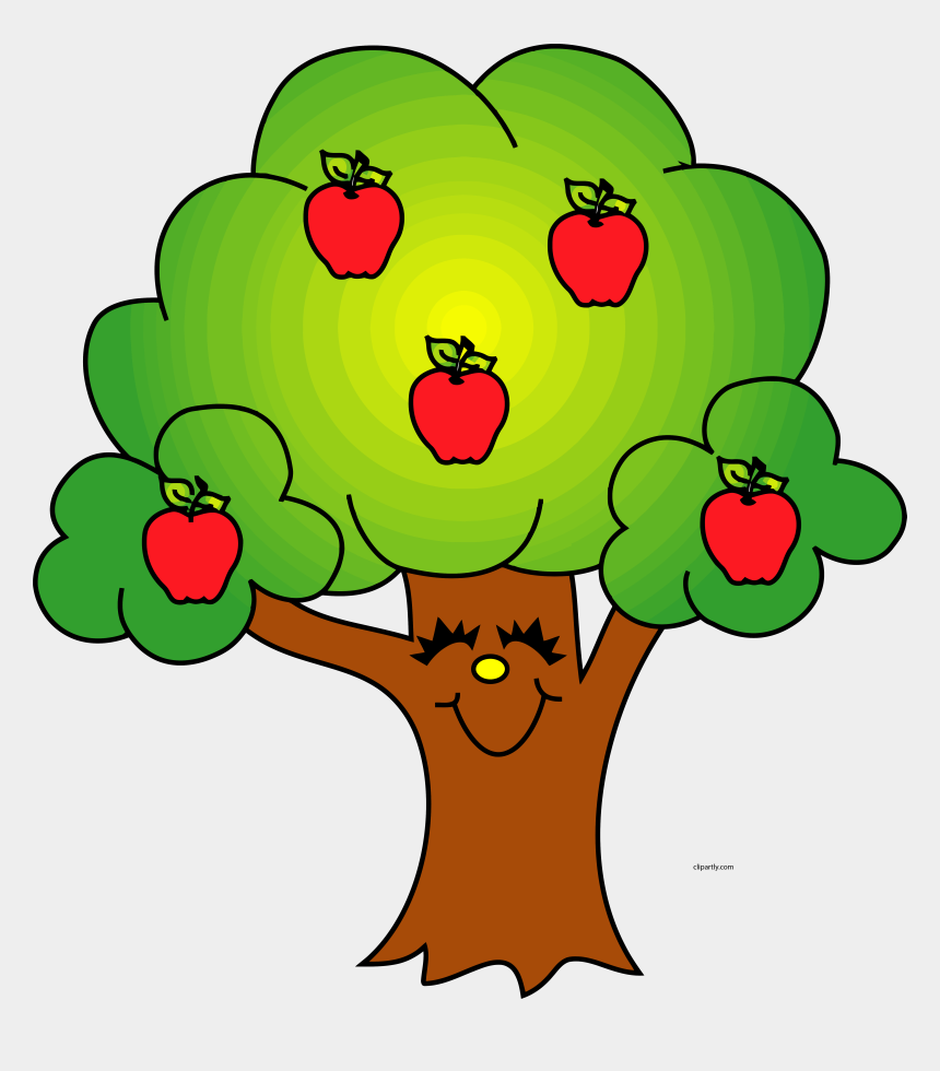 tree clip art, Cartoons - Trees Image Of Tree Clipart 8 Cool Apple Tree Clip - Tree With Apples Clipart
