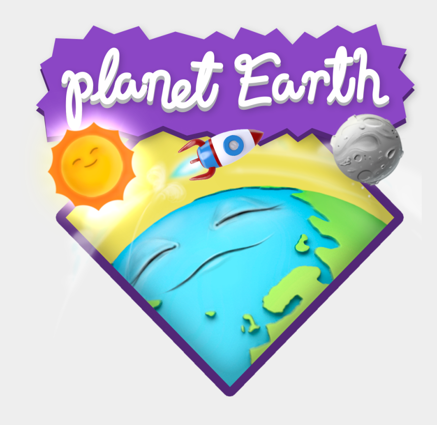 earth clipart, Cartoons - There Is Nothing As Have Knowledge About Your Planet - Cake