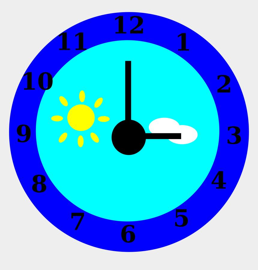 clock clipart, Cartoons - Clock Is Pointing At Three O'clock - Gambar Jam Dinding Animasi