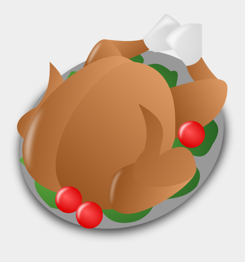 turkey clipart, Cartoons - Cooked Turkey Clipart - Thanksgiving Day Icon