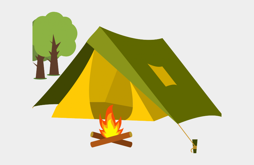 fire clipart, Cartoons - Camp Fire Clipart Camping Trip - Tent Camping Clip Art