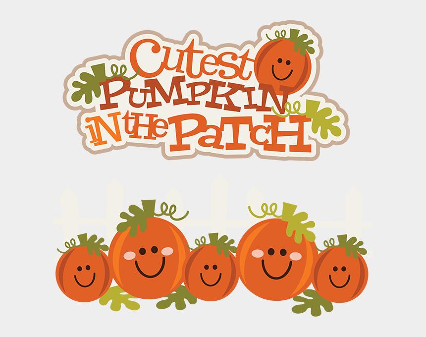 pumpkin clip art, Cartoons - Cutest Pumpkin In The Patch Svg Pumpkin Clipart Cute - Cutest Pumpkins In The Patch