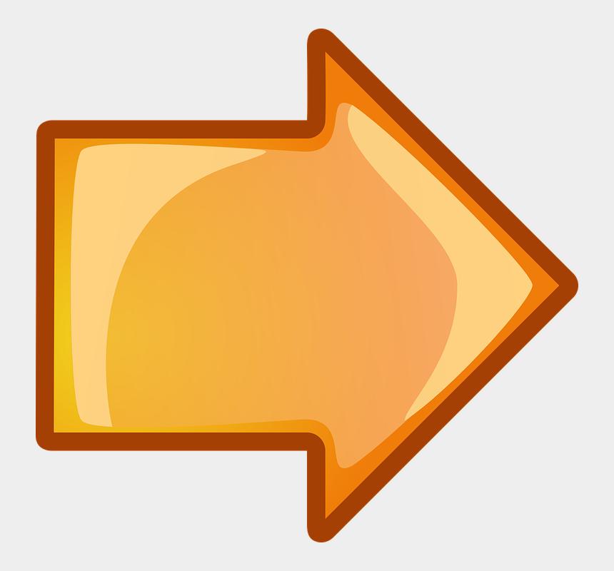 arrow clip art, Cartoons - Arrow Divider Cliparts 3, Buy Clip Art - Orange Arrow Animated Gif